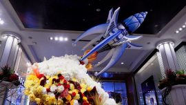 Take Me to the Moon: Macy's Flower Show Is Ready for Its Grand Opening