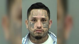 One of the Most Wanted Fugitives in Texas Has MS-13 Tattooed on His Face