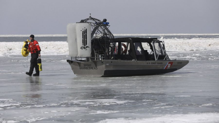 Dozens Rescued After Being Trapped on Lake Erie Ice Floe