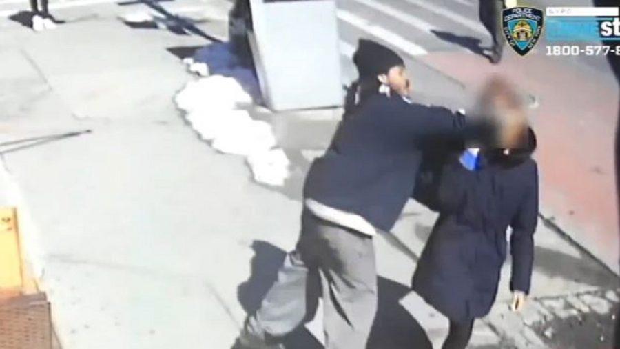 Video: Man Wearing Yale Coat Randomly Sucker-Punches Woman in New York City