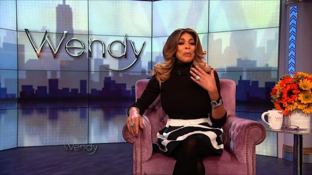 "The host of ""The Wendy Williams Show"" told viewers"