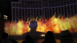 Game of Thrones Takes over Bellagio Fountains in Las Vegas
