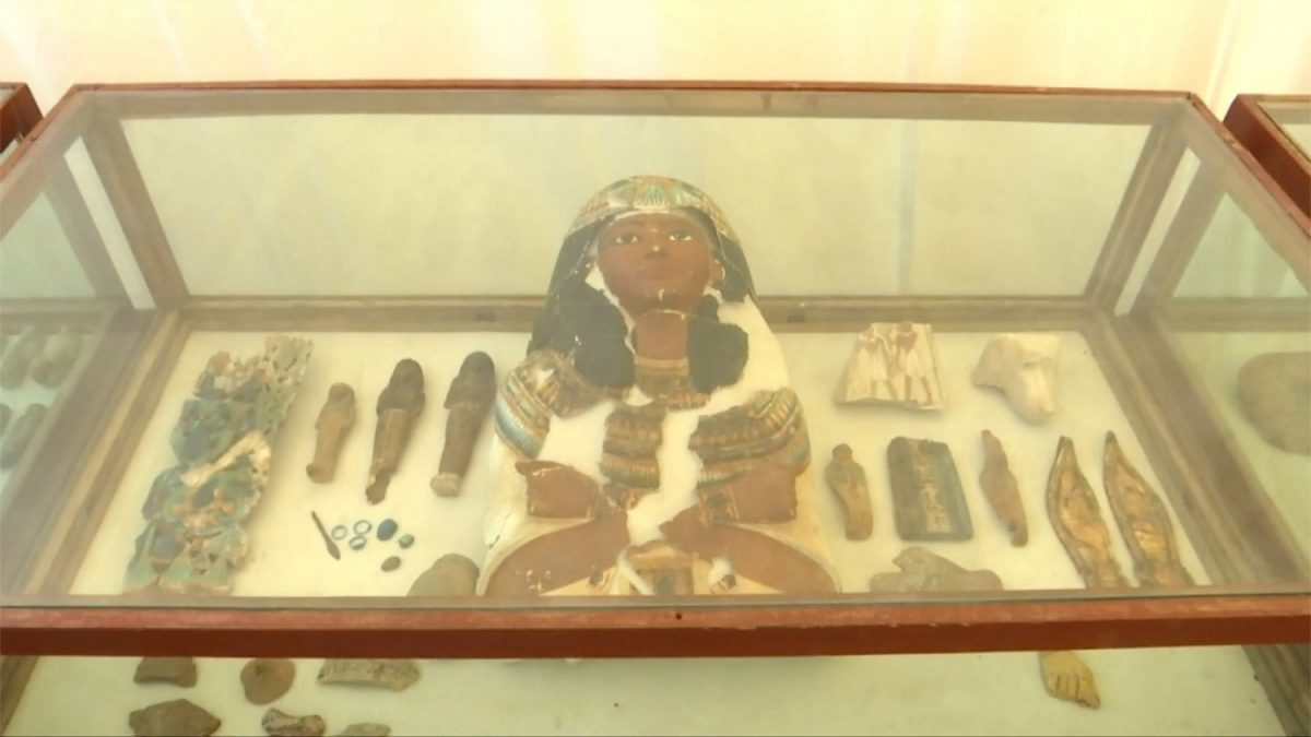 Artifacts from the tomb