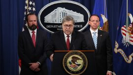Barr Says the 'Bottom Line' From Mueller Report Is 'No Collusion'