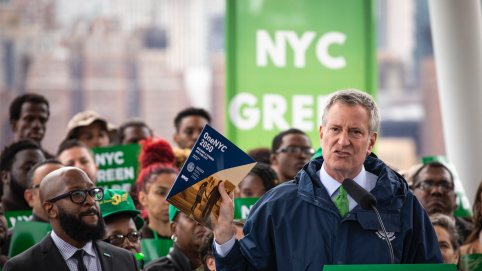 NYC Mayor Launches Own Green New Deal, Will Ban Steel and Glass Skyscrapers