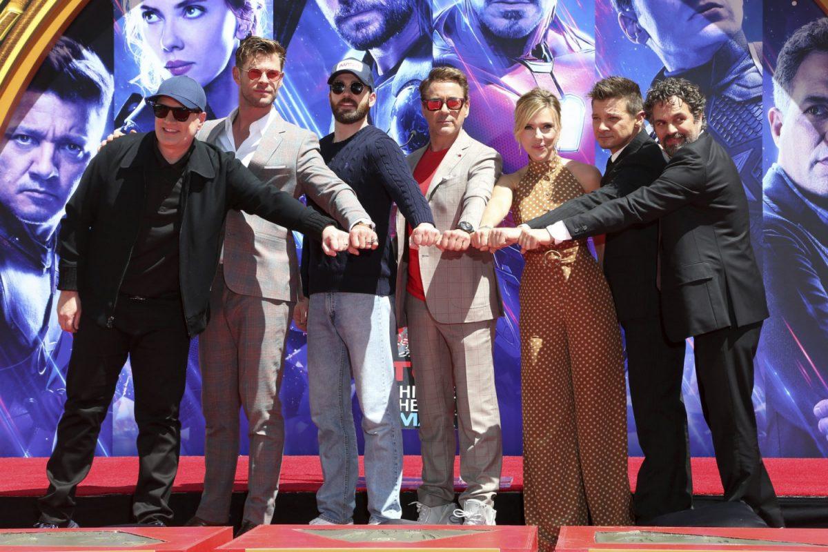 Cast members of Avengers