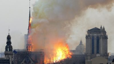 YouTube Puts 9/11 Banner on Videos Showing Notre Dame Burning