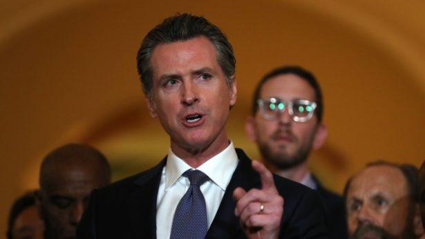 Gov. Gavin Newsom of California