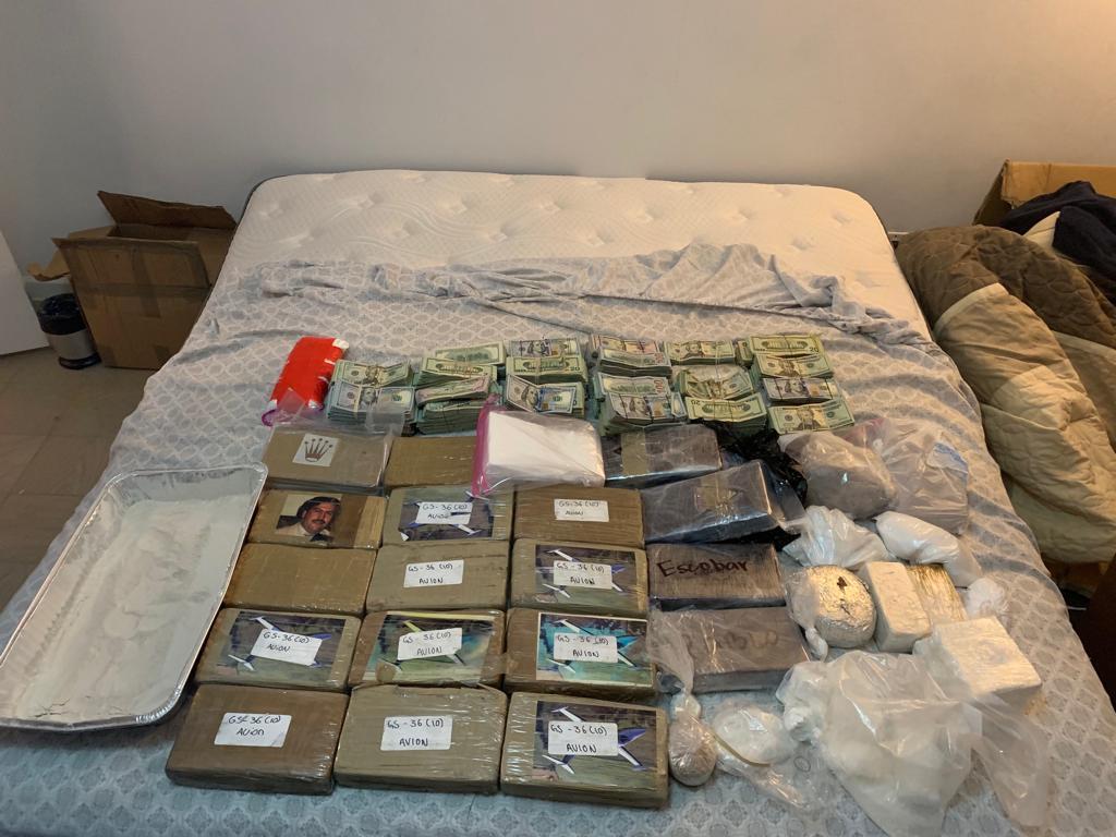 Harlem Drug Bust: 77 Pounds of Suspected Fentanyl Labeled