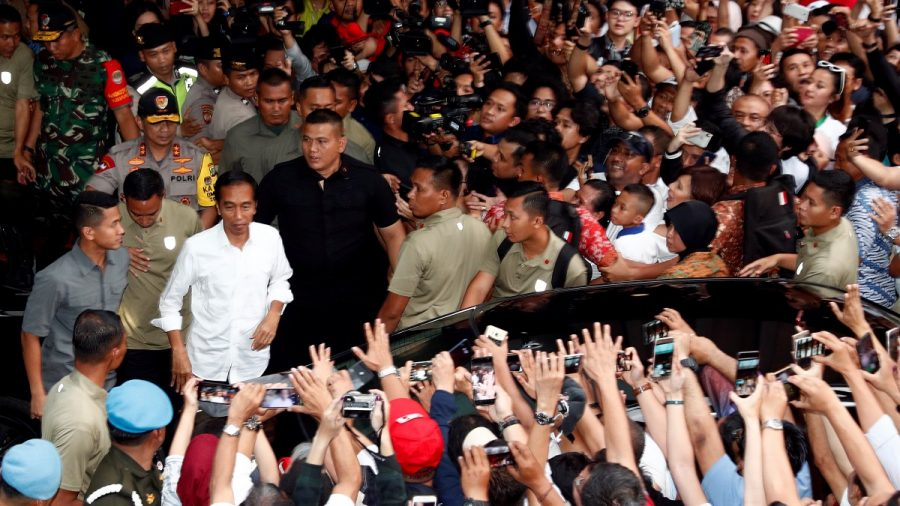 Official Count Gives President Widodo Victory in Indonesian Election