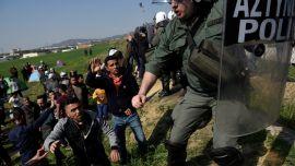 Illegal Immigrants Gather Near Greece's Border, Seeking to Cross