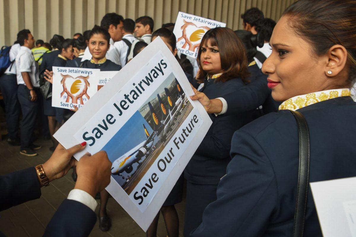 Jet Airways indian economy pilot strike