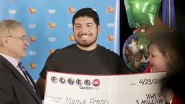 $768M Wisconsin Powerball Winner 'Pretty Much Felt Lucky'