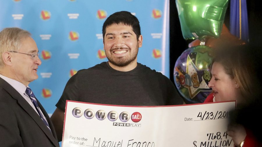 Wisconsin man claims $768 million Powerball jackpot