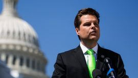 'I'm Coming After You': Matt Gaetz Shares a Horrible Death Threat With Tucker Carlson