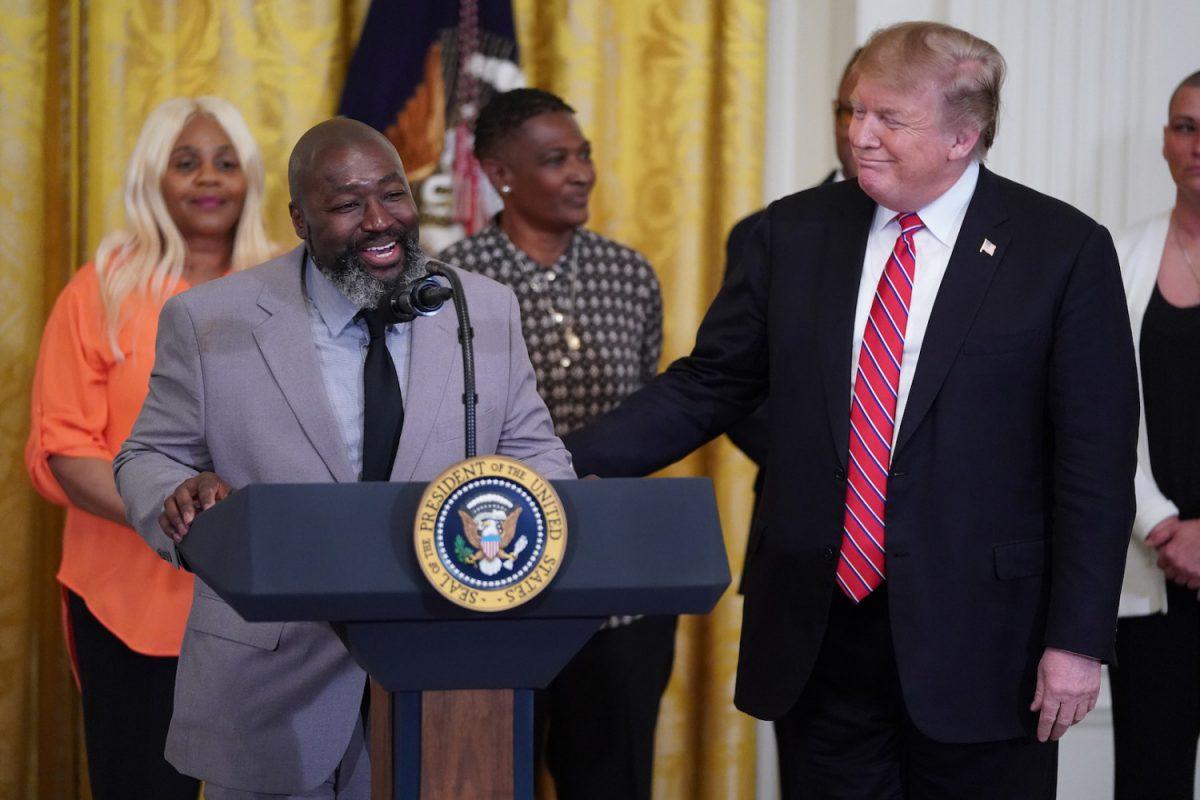 Matthew Charles and Trump