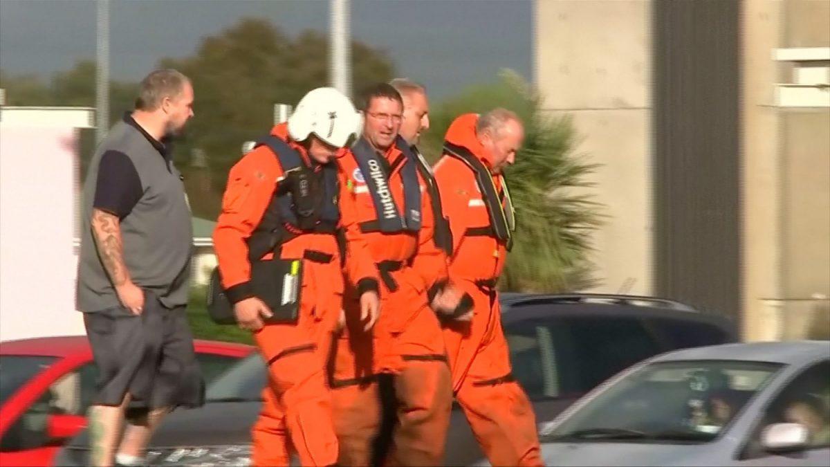 New Zealand helicopter crash survivors