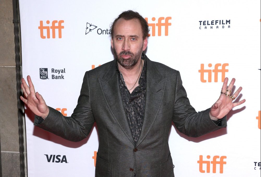 Nicolas Cage's wife of four days wants spousal support