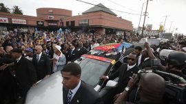 One Dead in Drive-by Shooting Possibly Linked to Nipsey Hussle Funeral Procession