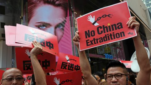 US Lawmakers Show Support for Hong Kong's Advocacy Against Proposed Extradition Bill