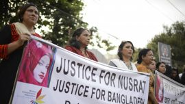 Protesters in Bangladesh After Girl Is Burned to Death