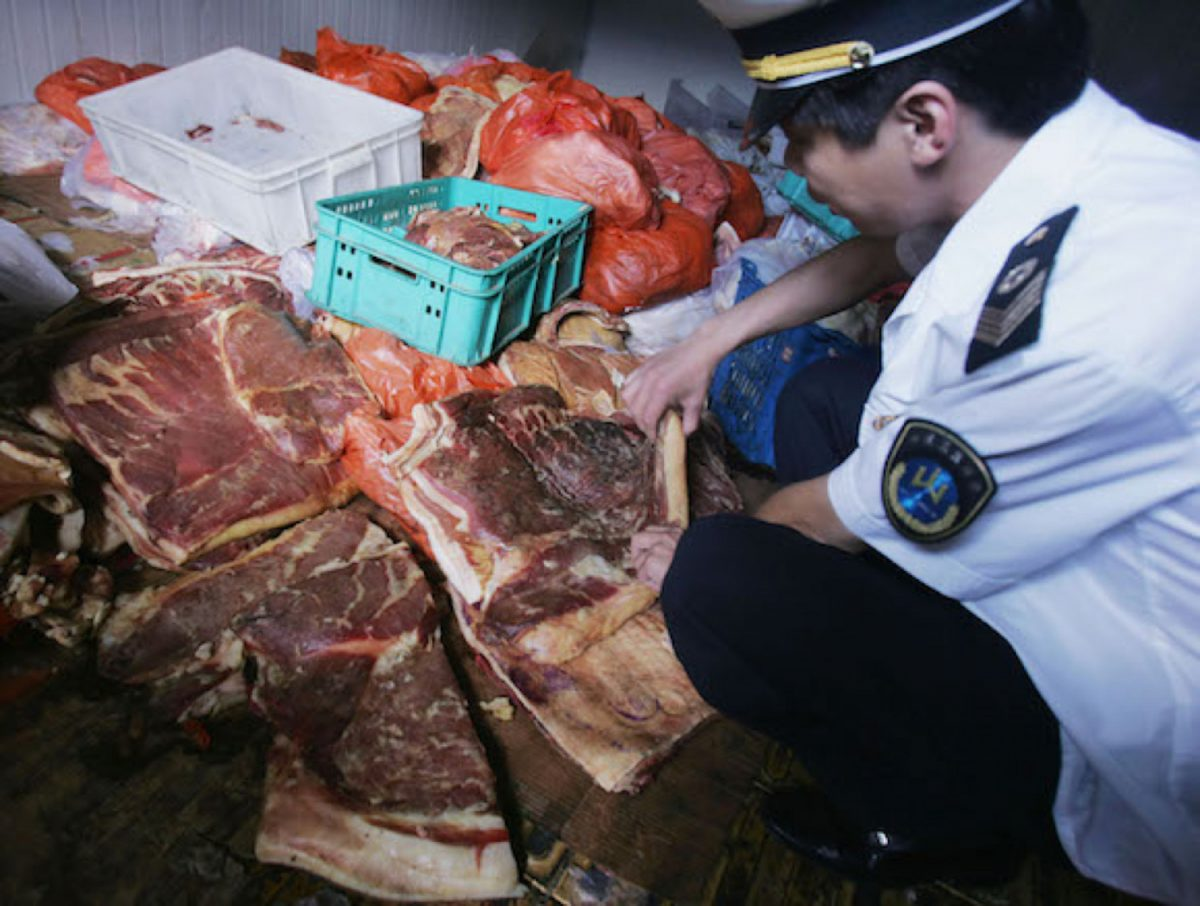 Police checking beef