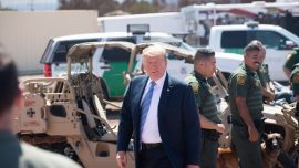 Trump to Illegal Immigrants: 'The System Is Full, Turn Around'