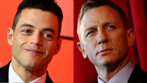 Rami Malek to Star as Villain in 'Bond 25' Opposite Daniel Craig's James Bond