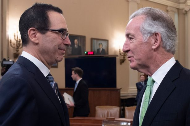 Steven Mnuchin and Richard Neal