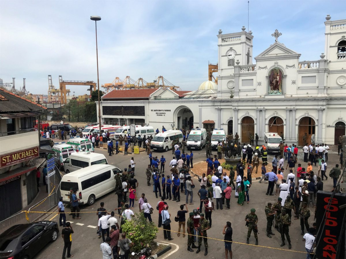 Sri Lanka Easter blasts