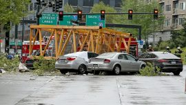 4 Dead After Construction Crane Crushes Cars in Seattle