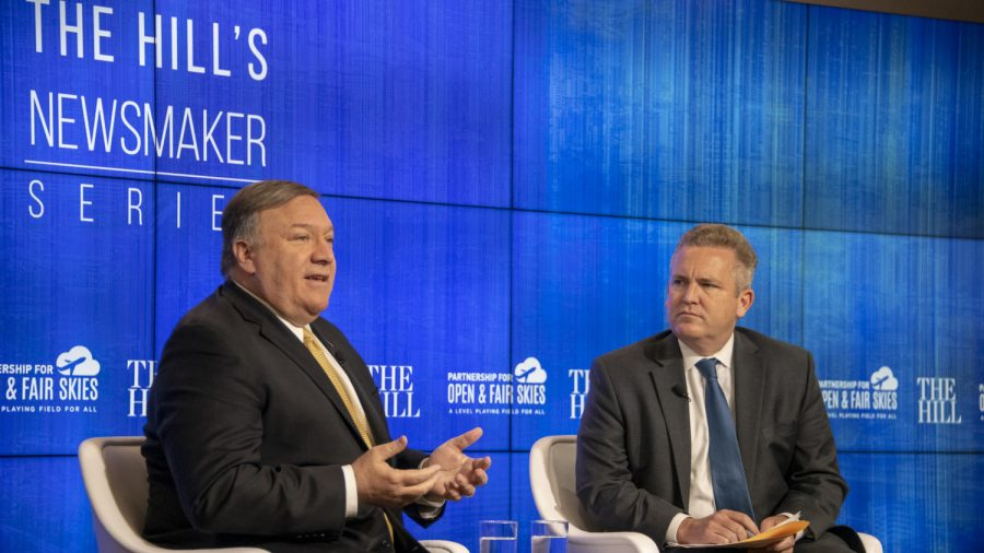 Pompeo predicts ongoing Russian threat to US elections