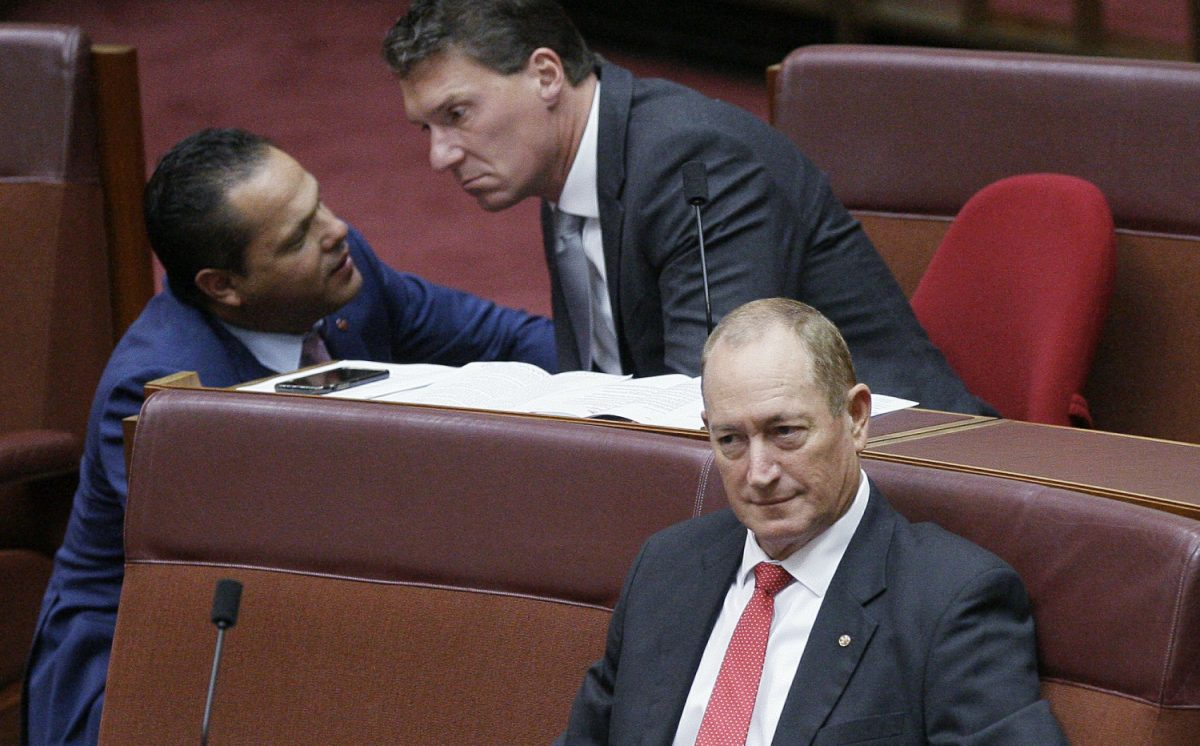 Senator Fraser Anning Update: Police Won't Charge Australian Teen Or Senator Over Egg Spat