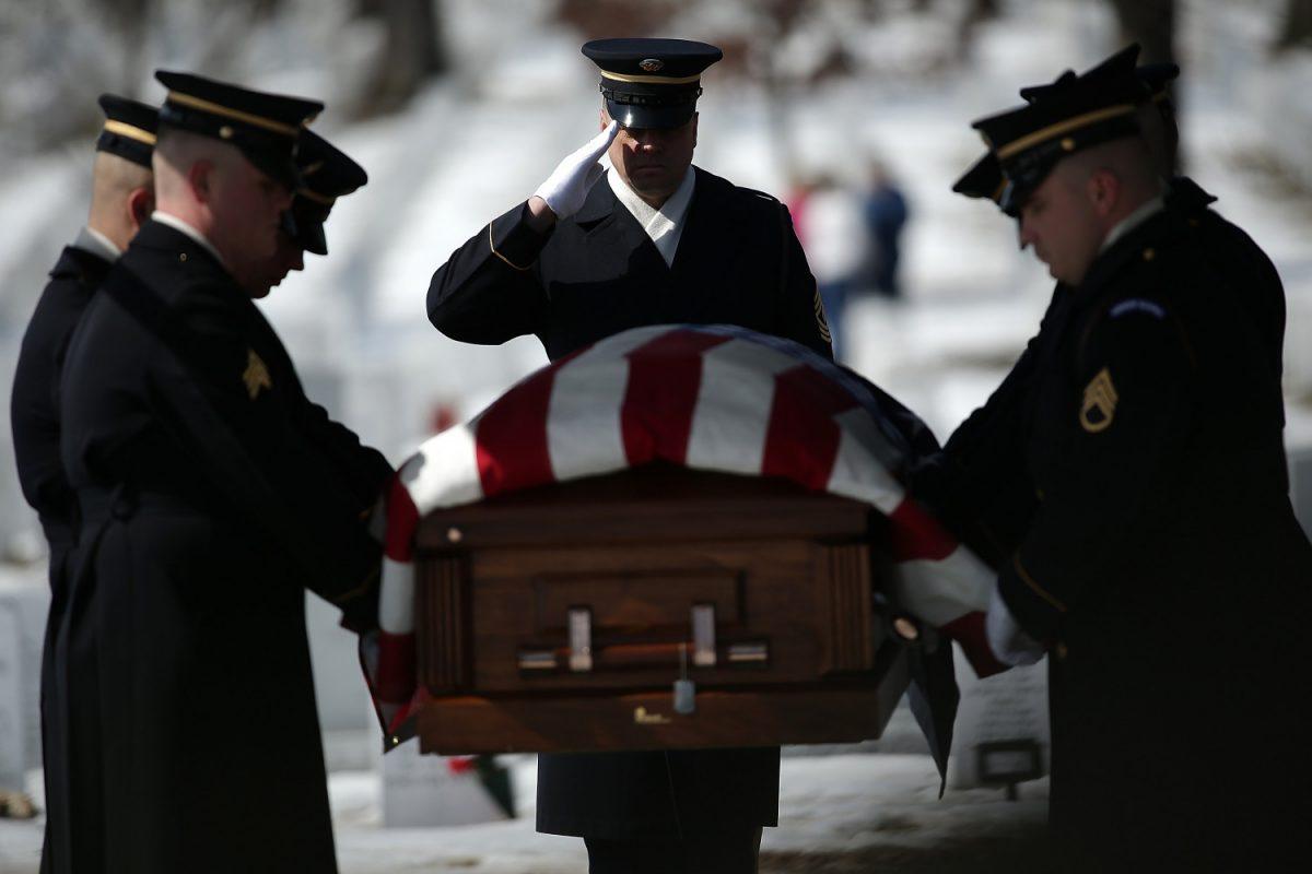Sgt. Charles Johnston's remain