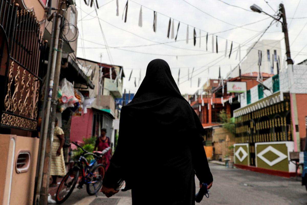 Sri Lanka ban face-covering 1