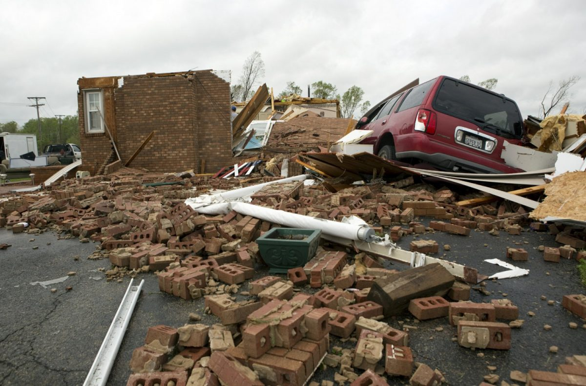 Storm south Mississipi, Alabama