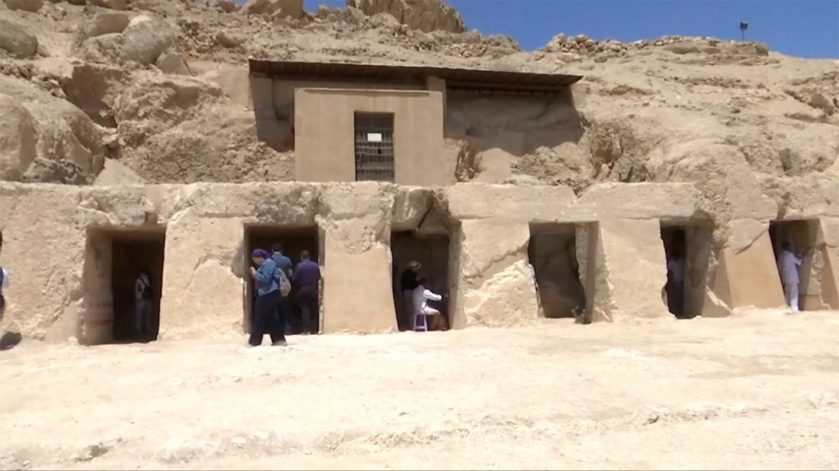 Tomb discovered in Egypt