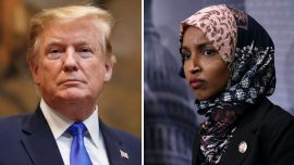 President Trump Responds to Ilhan Omar's 9/11 'Some People Did Something' Remarks