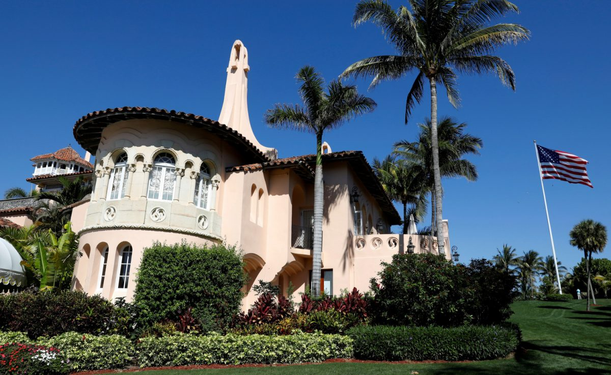 Trump's Mar-a-Lago estate in Palm Beach, Florida