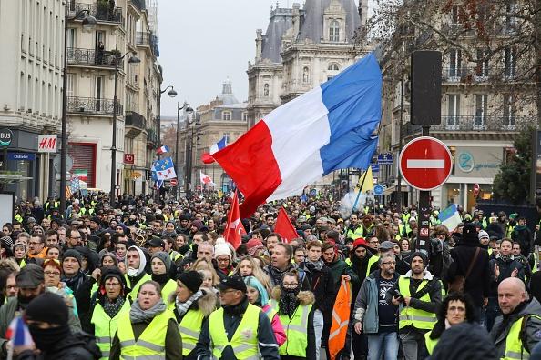 Yellow Vest protest in Paris