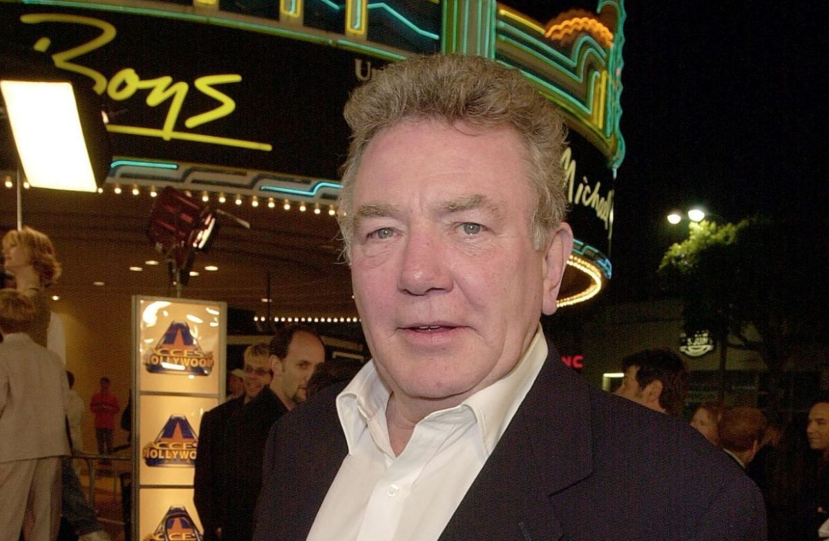 British actor Albert Finney arrives to the premier