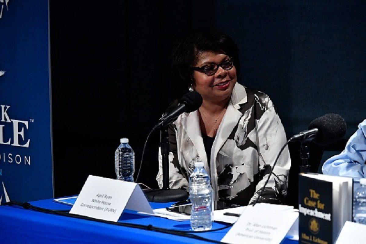April Ryan, White House correspondent for the American Urban Radio Network