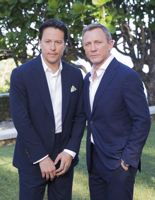 Cary Joji Fukunaga and Daniel Craig