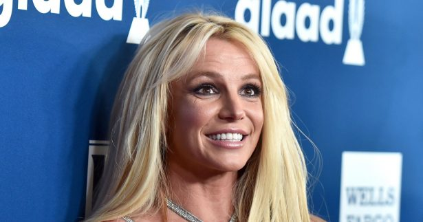 Britney Spears is pictured