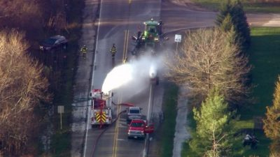 Ammonia Leak Sends 31 to Hospitals in Chicago Suburb