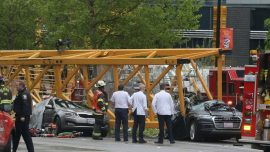 Crane Collapse That Killed 4 Caught on Video