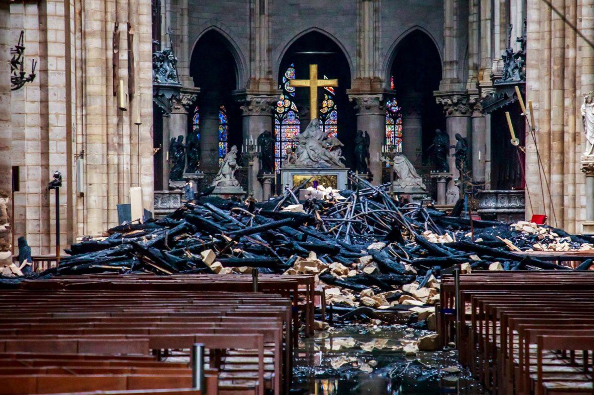 Relics survive Notre Dame fire