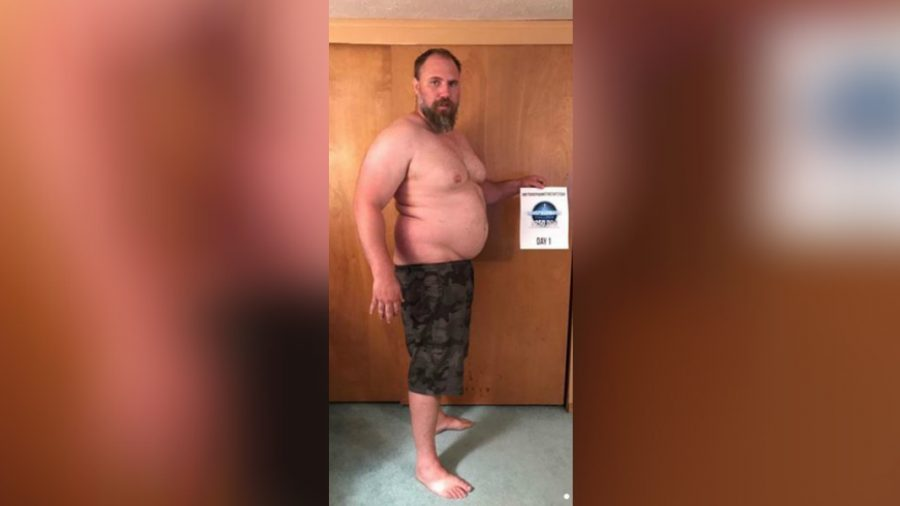 Dad Drops Nearly 100 Pounds After Noticing He Can't Keep Up With His Children