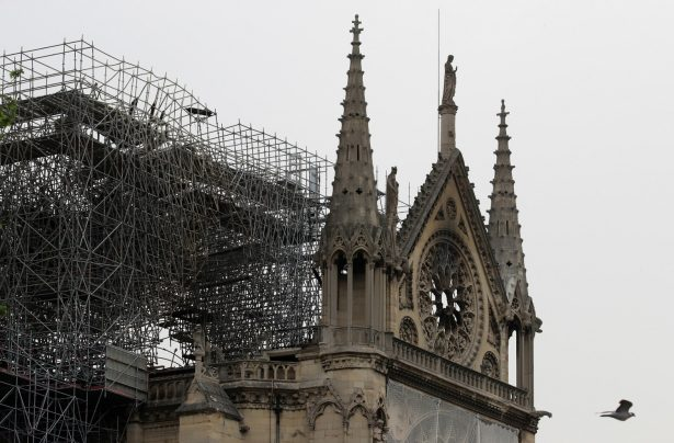 Cigarette Butts Found at Notre Dame After Massive Fire
