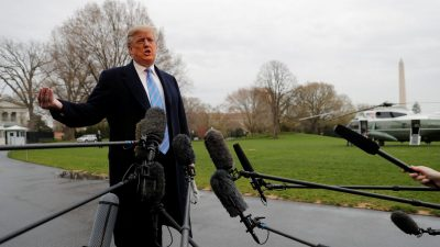 Trump's Responses to Robert Mueller Published in Special Counsel Report